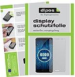 dipos I 6X Schutzfolie matt kompatibel mit Oukitel K8000 Folie Bildschirmschutzfolie
