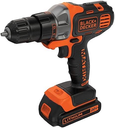 ✅BLACK+DECKER 20V MAX Matrix Cordless Drill/Driver (BDCDMT120C) #Power & Hand Tools