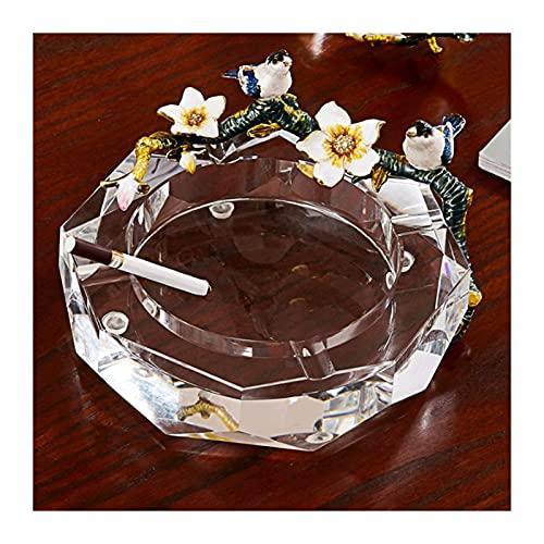 marks Wewnętrzna i zewnętrzna popielniczka na cygara szklana popielniczka na biurko biuro w domu KTV Hotel dekoracja barowa salon prezenty biurowe dla mężczyzn i kobiet
