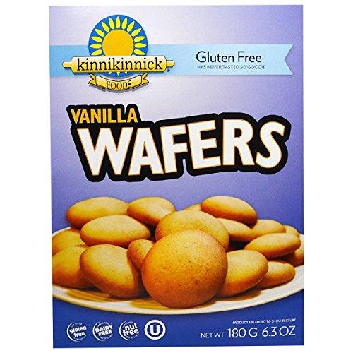Kinnikinnick Gluten-Free Vanilla Wafer (Pack of 3)