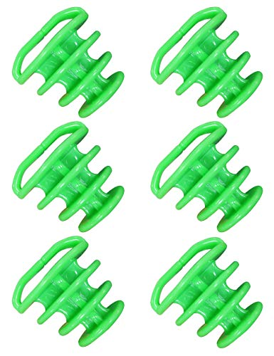 6PCS Universal Kayak Scupper Plugs Kit,Match with Most Scuppers(Kayak,Canoe,Rowing Boat),Float on The Water,TPR Material,Size from 1.25-2 inches (Pine Green)
