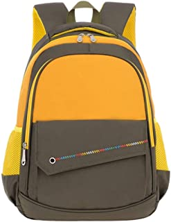 MYXMY Primary School Schoolbag boy 1-3 Grade 4-6 Grade Reduction Female Children Backpack boy wear Lightweight Ridge Men Simple Fashion Personality Backpack (Color : A)