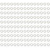 BIKICOCO 1.2 cm Hebillas de bucle redondo con conector de monedero con junta tórica de me...