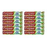 Colgate, Pasta de Dientes Triple Acción Extra Fresh, Pack 12 uds x 75 ml