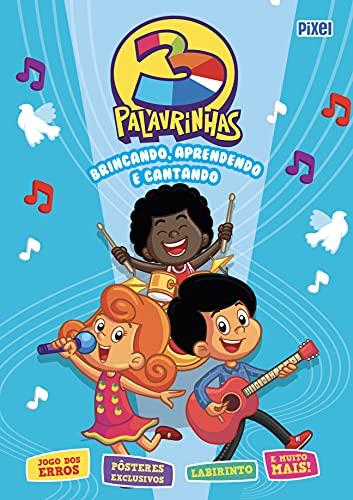 Livrão 3 Palavrinhas: Brincando, Aprendendo e Cantando