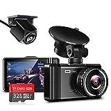 Best Mini Dash Cams - JOMISE F3S Dual Dash Cam FHD 1296P Review