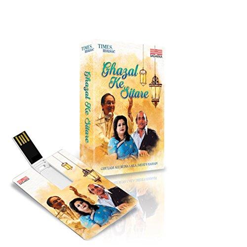 GHAZAL KE SITARE (USB MEMORY STIC)