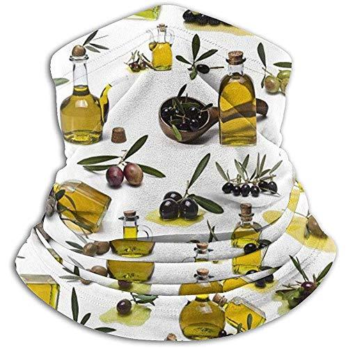 Olivenöl Nackenwärmer Schal Gamasche Gesichtsmaske Bandanas für Staub kaltem Wetter Winter im Freien