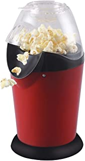 Mini Popcorn Machine Electric Vintage Oil Free Popcorn Maker Red