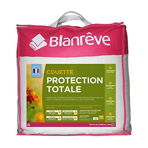 Blanrêve - Couette Très Chaude - Protection Totale - anti acariens et antibactérienne -200x200 cm