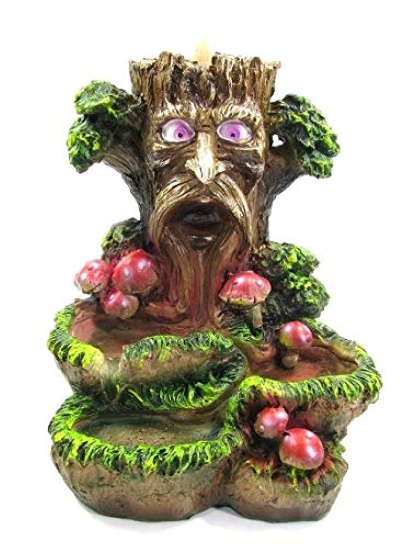 溶けたわかりやすい腸[INCENSE GOODS(インセンスグッズ)] TREE BACKFLOW INCENSE BURNER