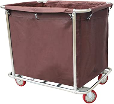 Nhlzj Portable cart -GR/Rolling Laundry Basket with Wheels, Storage Hamper & Laundry Sorter - Ideal for Schools, Offices,