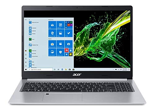 Acer Aspire 5 Slim A515-55 15.6-inch Laptop (Core i5-1035G1/8GB/1TB HDD + 256GB SSD/Window 10, Home, 64Bit/Intel UHD Graphics), Silver
