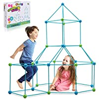 Obuby Kids Fort Building Kit Construction Stem Toys for 5 6 7 8 9 10 11 12 Years Old Boys and Girls