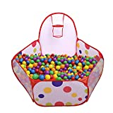 Mudder Kids Ball Pit Playpen Toddler Play Tent Sea Ball Pool with Mini...