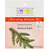 Aromatherapy Mineral Bath Soothing Heat - 2.5 oz - Case of 6 by Aura Cacia
