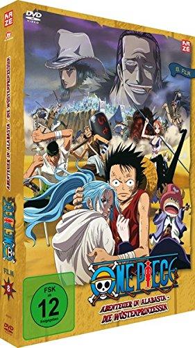 One Piece: Abenteuer in Alabasta - Die Wüstenprinzessin - 8. Film - [DVD]