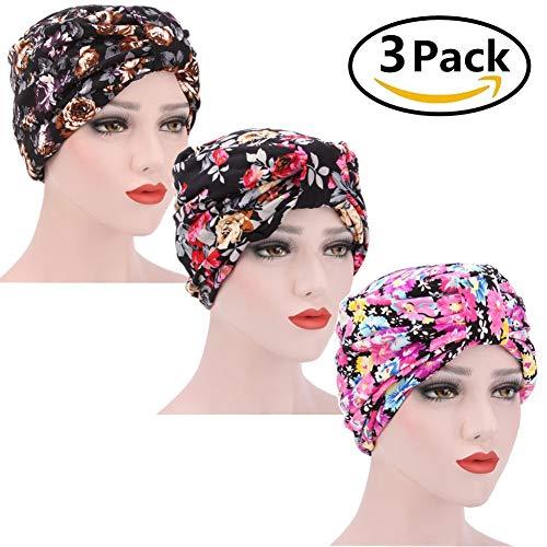 Muts voor dames met dubbele sjaal, caps met chic hoed, chemotherapie, kanker, muts, hoofddoek, hoed, caps