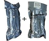 4' + 6' Israeli Emergency Bandage with Pressure Bar bar (2 Bandages)