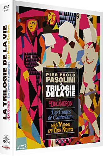 Pier Paolo Pasolini-La Trilogie de la Vie : Le Décaméron + Les Contes de Canterbury + Les Mille et Une Nuits [Édition Collector Numérotée]