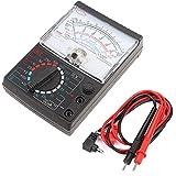Instrumento de prueba de resistencia de voltaje de multímetro de puntero analógico AC/DC