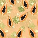 PAPAYA/orange, Softshell Classic, 140 cm breit (+/- 5%),