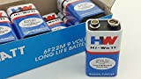 Rebel Hi-Watt 9V Non-Rechargeable Long Life Battery (Pack of 5)