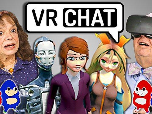 Elders React To VrChat