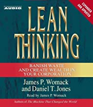 Lean Thinking: Banish Waste and Create Wealth in Your Corporation, 2nd Ed by Womack, James P., Jones, Daniel T. (2003) Audio CD
