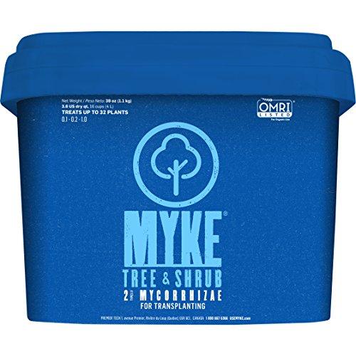 Myke TRE12 Tree and Shrub Growth Supplement Mycorrhiza 36 Quarts