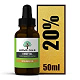10000 miligramos – 20% (dorado) aceite de cáñamo – 5 meses de suministro – botella grande de 50 ml