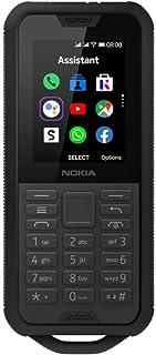 "Nokia 800 - Teléfono móvil de 2,4""""(512 MB RAM, 4GB ROM, Cámara 2 MP, Batería 2100 mAh), Negro"