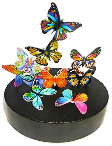 JULY PRO Magnetic Sculpture Butterflies Desktop Stress Relief Toy