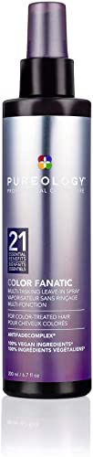 Pureology Colour Fanatic Leave-in Conditioner Hair Treatment Detangling Spray | Protects Hair Color From Fading | Hea...