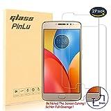 pinlu® [2 Pack Film Protection en Verre trempé écran Protecteur Vitre pour Motorola Moto E4 Plus...