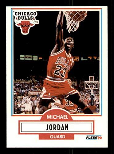 Michael Jordan Card 1990-91 Fleer #26