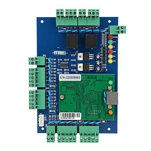Türöffnungs-Zugangskontrollfeld-Kit, TCP/IP-Wiegand-Zugangskontrolltafel-Controller mit zwei Türen und Softwarekommunikationsprotokoll