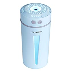 BIANHAO Humidifier Mini Night Light can add Essential Oil Aroma Diffuser