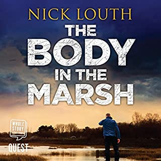The Body in the Marsh audiobook cover art