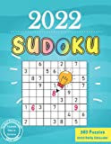 2022 Sudoku Daily Calendar: 365 Sudoku Puzzles 9x9 For Every Day Of The Year 2022, 5 Levels of Difficulty (Easy to Extreme) for Adults
