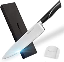 Wanbasion Chef Knife Stainless Steel Knives, High Carbon Steel Chef Knife 8 inch, Sharp Cutting Kitchen Knife for Meat Cut...