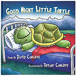 Image: Good Night Little Turtle | Hardcover: 28 pages | by David Cunliffe (Author), Tiffany Cunliffe (Illustrator). Publisher: Bedtime Press (February 12, 2014)