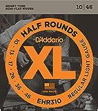 3 Packs | D'Addario EHR310 Guitar Strings | Half Round Regular Light 10-46
