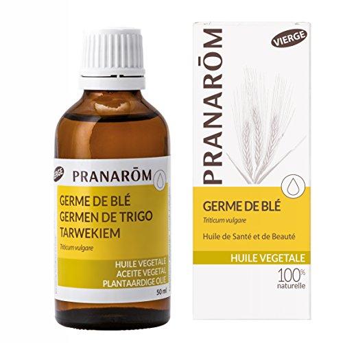 Pranarôm - Huile Végétale de Germe de Blé - Riche en vitamine E - 50 ml