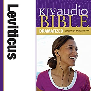 Dramatized Audio Bible - King James Version, KJV: (03) Leviticus audiobook cover art