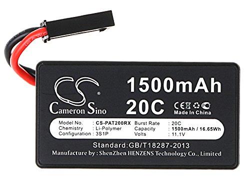 AccuCell - Batteria per Parrot AR.Drone 1.0, AR.Drone 2.0, AR.Drone 2.0 HD