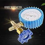 Manómetro de llenado de refrigerante, manómetro de aire acondicionado de llenado preciso, para aire acondicionado doméstico