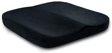 وسادة مقعد السيارة تريندي من الإسفنج الذكي من كريز تريندي لتخفيف الآلام وتقويم العظام من أجل حياة أكثر صحة ونوم صوتي 15.7 × 15.7 سم