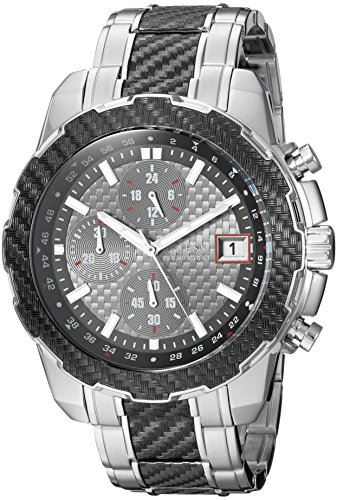 GUESS Men's Stainless Steel Casual...