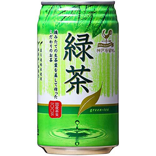 富永貿易 神戸居留地 緑茶(340g*4本入)